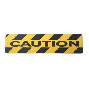 Caution – Anti slip adhesive floor sign