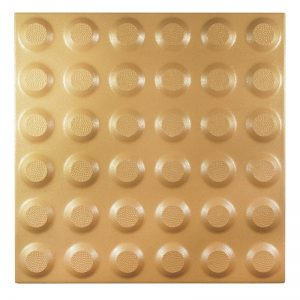 Porcelain Hazard Tactile Indicator Tiles – 300x300mm