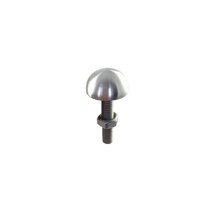 Small Dome skateboard deterrent with nut