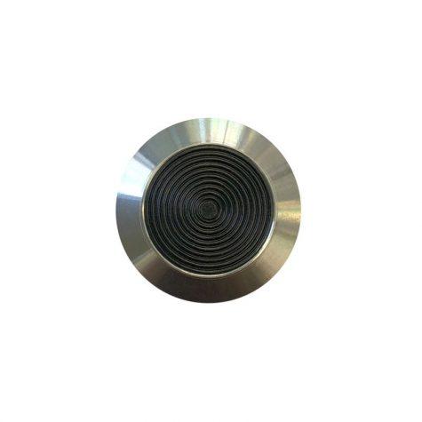 TI1045-1 - Black - Stainless Steel plastic insert tactile indicators
