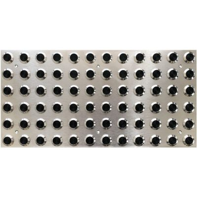 TI1051-1 Black Poly Insert - Stainless Steel Tactile Indicator Plates