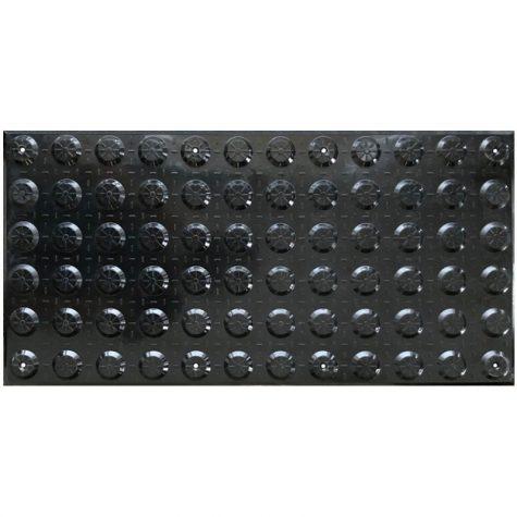 TI1101-1 - Black Fibreglass Polymer Hazard Tactiles