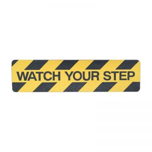 Watch your step – Anti slip adhesive floor sign