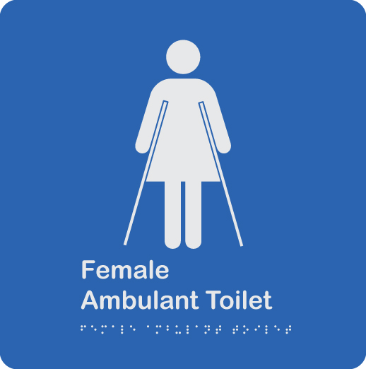 blue-and-white-plastic-female-ambulant-toilet-sign