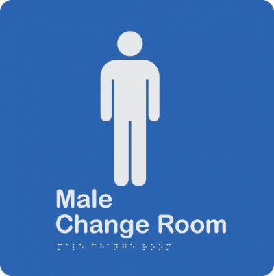 blue-and-white-plastic-male-change-room-sign